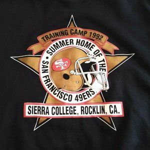 Vintage 1992 San Francisco 49ers Summer Sierra